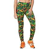 Zumba Leggings de Fitness Cintura Alta Entrenamiento Baile Compresión Pantalones...