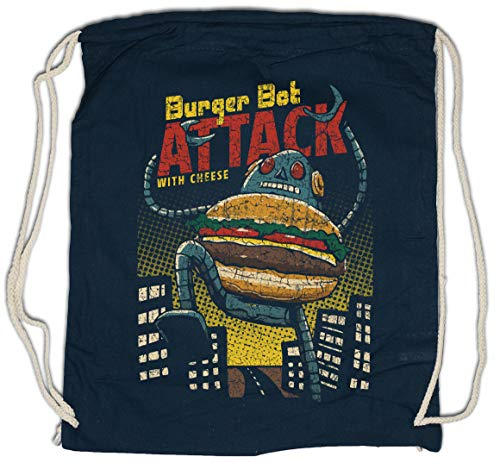 Urban Backwoods Burger BOT Attack Bolsa de Cuerdas con Cordón Gimnasio