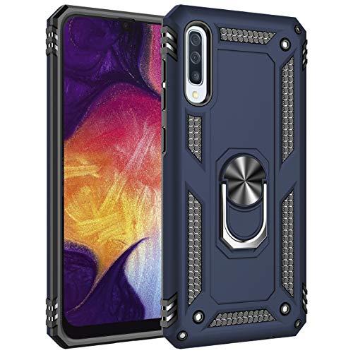 AFARER Hülle Kompatibel Mit Samsung Galaxy A50/Samsung Galaxy A50s/Samsung Galaxy A30s Militärische Handyhülle Blau