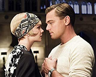 Leonardo DiCaprio Carey Mulligan The Great Gatsby 8 x 10 Metal Aluminum Tin Gloss Sign