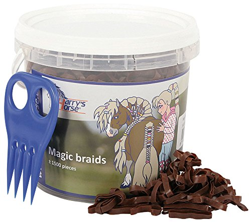 Harry's Horse Magic Braids, Pot, Farbe:braun