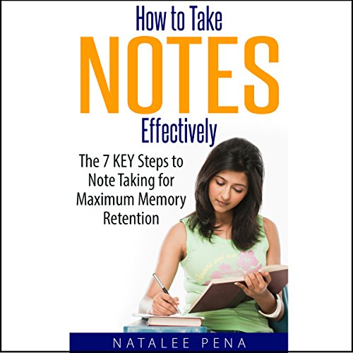 How to Take Notes Effectively audiobook cover art