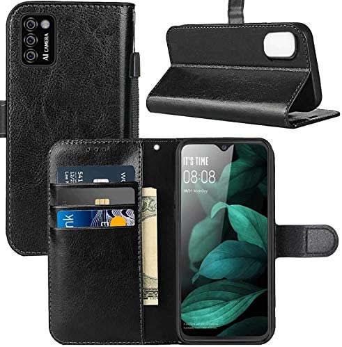 CUBOT Note 7 Case CUBOT Note 7 Wallet Case PU Leather Wrist Strap Card Slots Soft TPU Shockproof product image