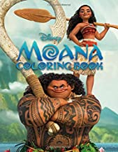 Disney Moana Coloring Book: Great Coloring Pages For Kids | Ages 3-7
