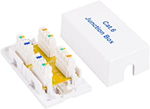 Cable Leader Cat6 Junction Box, 110 Punch Down Style