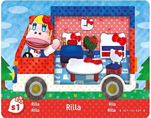 Amiibo Karten: Animal Crossing: New Leaf – Sanrio Collaboration Pack (6 Stück) - 2