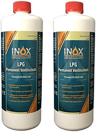 Inox Lpg Permanent Ventilschutz Additiv 4 X 1 Liter Zusatz Für Autos Mit Gasanlage Auto