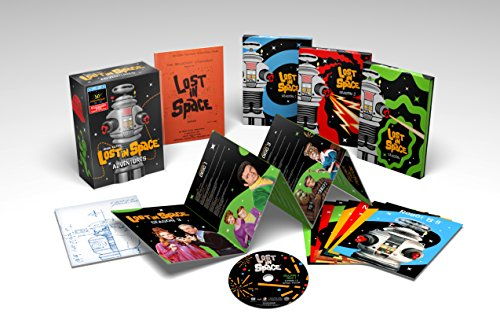 Lost In Space: The Complete Adventures with Limited Edition Molded Robot Package [Blu-ray]