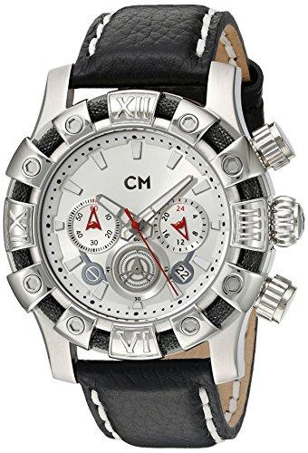 Carlo Monti CM122-112 - Orologio da polso uomo, pelle, colore: nero