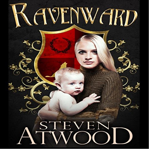 Ravenward audiobook cover art