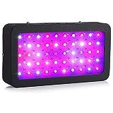 LEDGLE LED Plant Grow Light 300W(50X6W) Full Spectrum with UV IR Plant...