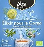 YOGI - Thé Biologique - Elixir pour la Gorge - 21,6 g
