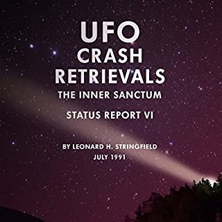 UFO Crash Retrievals: The Inner Sanctum audiobook cover art