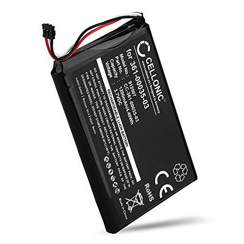 CELLONIC® Qualitäts Akku kompatibel mit Garmin Nüvi 2597, 2595, 2497, 2495, 2475, 2455 / Edge 1000 Touring, 361-00035-03 1200mAh Ersatzakku Batterie