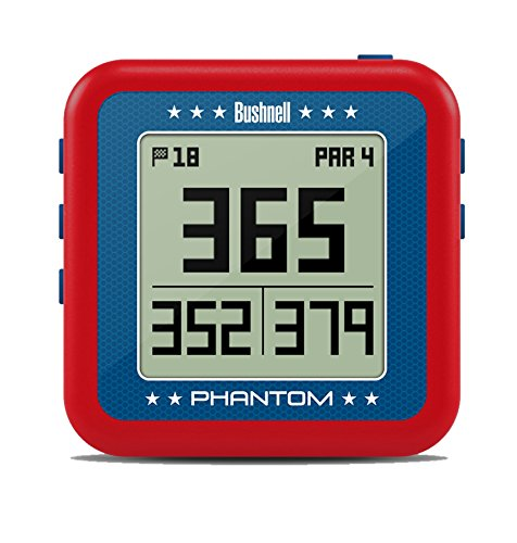 Bushnell 368821 Phantom Golf GPS, Red/Blue