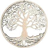 Árbol De La Vida Arte De Pared De Madera Decoración para El Hogar Sagrado Árbol De La Vida - Idea De Regalo Ideal Decoración De Pared Funcional De Jardín