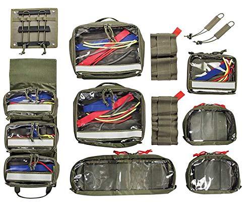 Tasmanian Tiger TT Modular Medic Insert 30 Erste Hilfe Zusatz-Taschen Set (Oliv)