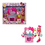 Hello Kitty and Friends So-Delish Kitchen Playset, Hello Kitty and Éclair Doll (~10-in / 25.4-cm) with 25 Accessories, Great Gift for Kids Ages 4Y+