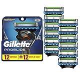 Gillette ProGlide Men's Razor Blade Refills, 12 Count