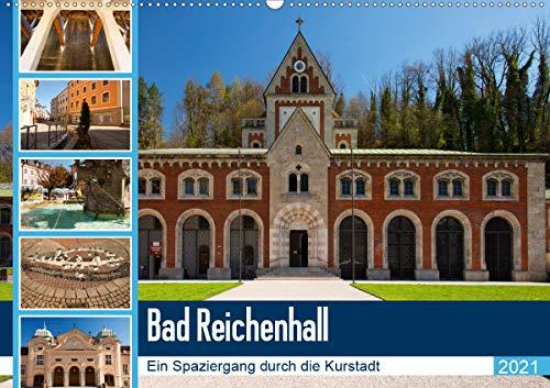 Bad Reichenhall (Wandkalender 2021 DIN A2 quer)
