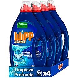 Detergente para lavadora Wipp Express limpieza Profunda