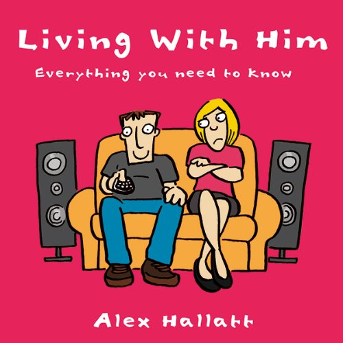 Living With Him audiobook cover art