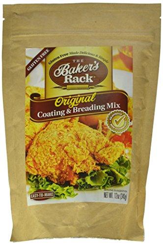 Baker's Rack Gluten Free Original Breading Mix, 12 Ounce