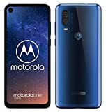 "Foto Motorola One Vision Dual SIM, 128GB, 48MP, Android 9 Pie, Display CinemaVision FHD+ da 6,3"", Blu (Sapphire Blue)"