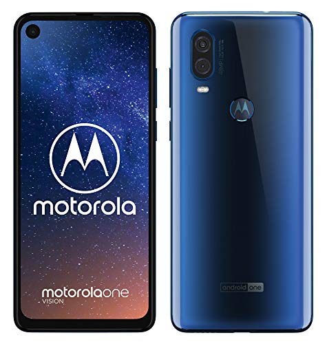 Motorola One Vision - Smartphone Android One (4 GB de RAM, 128 GB, cámara 48 MP...