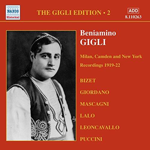 Gigli Edition Vol.2: Registrazioni