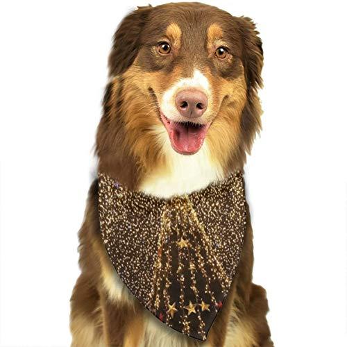 Sitear kerstboom slinger licht decoratie hond kat sjerp halsdoek set geschikt voor kleine tot grote hond katten
