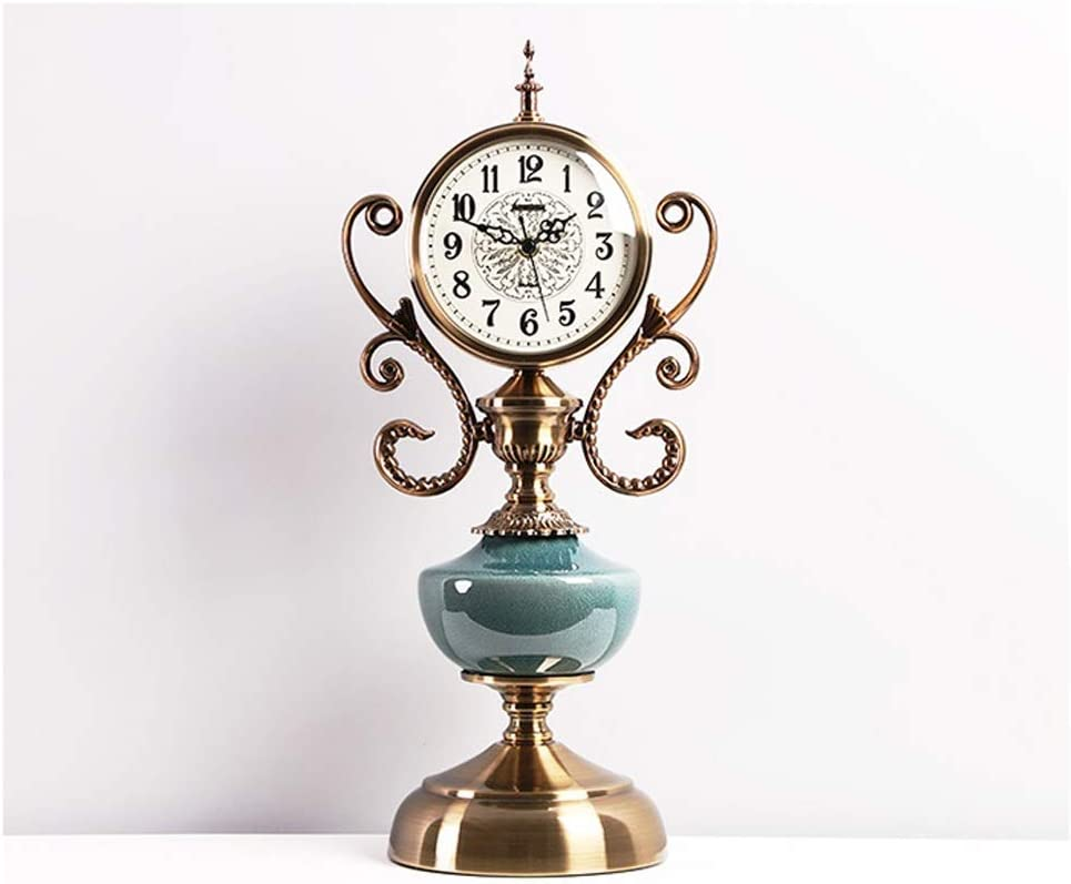 zxb-shop Table New product Clock American New color Light Luxury Fireplace