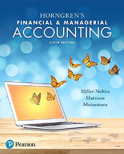 Top 10 managerial accounting sixth edition for 2020