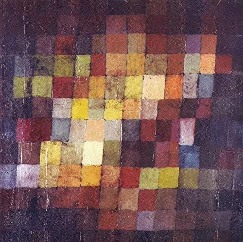 Filmposter Alter Klang Paul Klee – Beste Kunst-Reproduktion Qualität Wanddekoration Geschenk, Poster A2