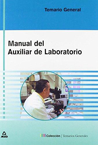 Manual Del Auxiliar De Laboratorio. Temario de Editorial Mad (1 ago 2003) Tapa blanda