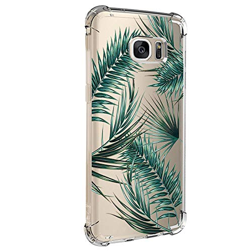 Hülle für Samsung Galaxy S6 Edge Hülle,Crystal Hülle Transparent Schutzhülle Weiche Silikon Handyhülle Slim Handy Kratzfest Kreative Motiv Muster Clear Schutz Bumper case für Galaxy S6 Edge (5)