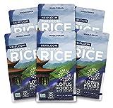 Lotus Foods Gourmet Heirloom Forbidden Rice, 0.94 Pound (Pack of 6) - Packaging May Vary