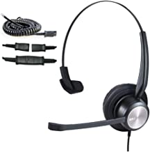 $27 » Cisco Phone Headset Corded RJ9 Telephone Headset with Noise Cancelling Microphone for Cisco CP-7821 7841 7942G 7931G 7940 ...