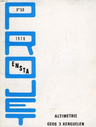 PROJET ENSTA N° 50, 1976, ALTIMETRIE GEOS 3 KERGUELEN