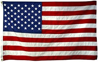 8x 12 FT US American Flag 2-ply Sewn Polyester Commercial & 6 Month Warranty