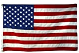 5X 8 FT US American Flag 2-ply Sewn Polyester Commercial & 6 Month WarrantyWarranty VOID if not purchased from Flagman of AmericaWarranty VOID if not purchased from Flagman of America