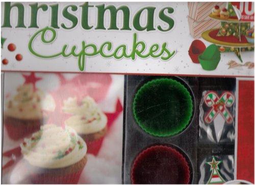Deluxe Kerst Cupcake Doos Set