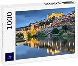Rompecabezas Lais Skyline Toledo, España 1000 piezas