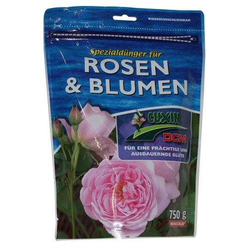 Cuxin Spezialdünger für Rosen und Blumen, 750 g