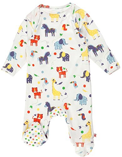 Piccalilly Jungle Footed Sleepsuit 6-12 months