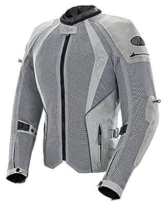 Joe Rocket - 1653-0303 Cleo Elite Women's Mesh Motorcycle Jacket (Silver, Medium) from Joe Rocket