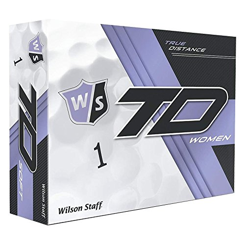 Wilson True Abstand W / S True Abstand Damen WH 12-Ball, Weiß