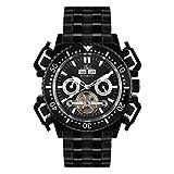 Hindenberg Herren Analog Automatik Uhr mit Edelstahl Armband 790198