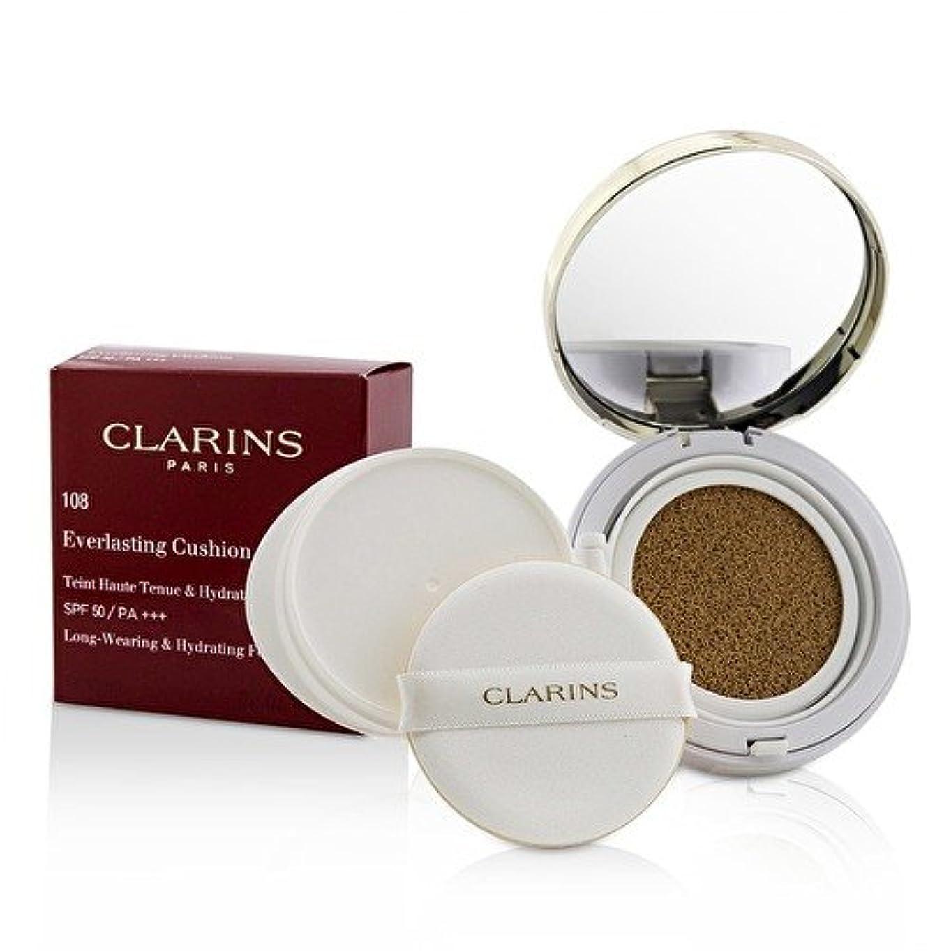 請求新しい意味別れるクラランス エヴァーラスティングクッションファンデーション SPF 50# 108 Sand