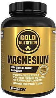 Goldnutrition Magnesio, 600mg, 60 cápsulas